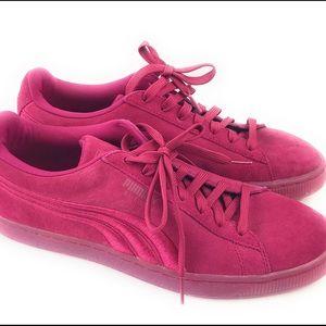 Puma | Suede Low Top Sneakers Pink